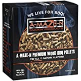A-MAZE-N 100% Apple BBQ Pellets - Smoker Chips - Grilling - 2 lb