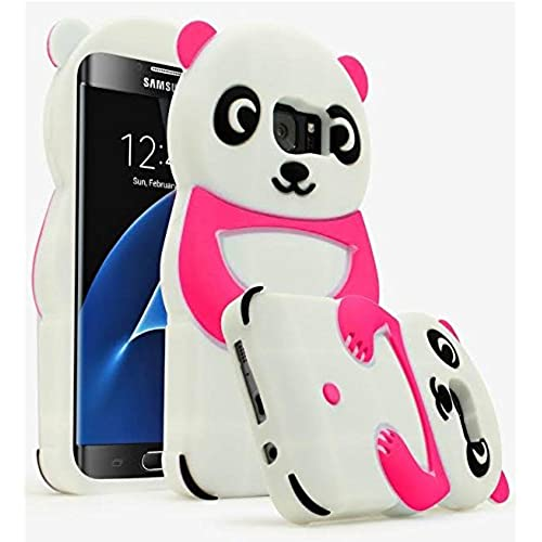 Bastex Silicone Panda Case for Samsung Galaxy S7 Edge - Pink Sales