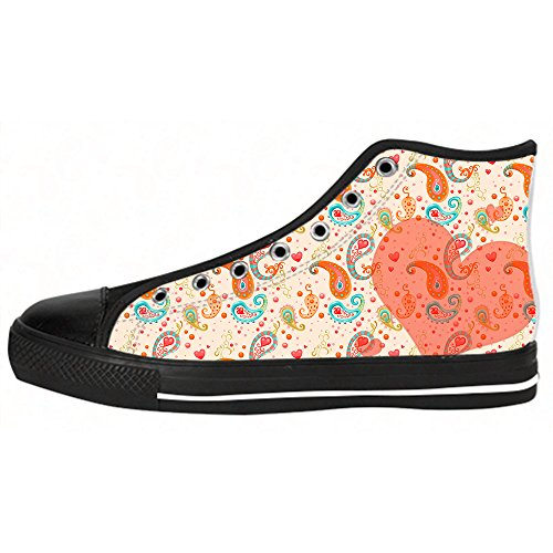 Canvas Da Arte Dipinto In Le Alto Ginnastica Custom Delle Shoes Albero Di I Tela Scarpe Sopra Lacci Men's Hdnqffx4