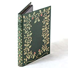 Kindle Case with Foldback Classic Book Cover (My Book) (Floral Green)