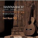 Hannabach 890 MT 3/4 Children Guitar Set (G3 plain) Scale 57-61cm