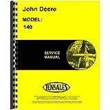 New John Deere 140 Lawn & Garden Tractor Service Manual