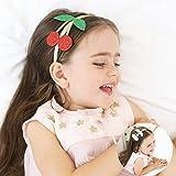 Pengduo Baby Girls Headband/Hairband Gold Glitter
