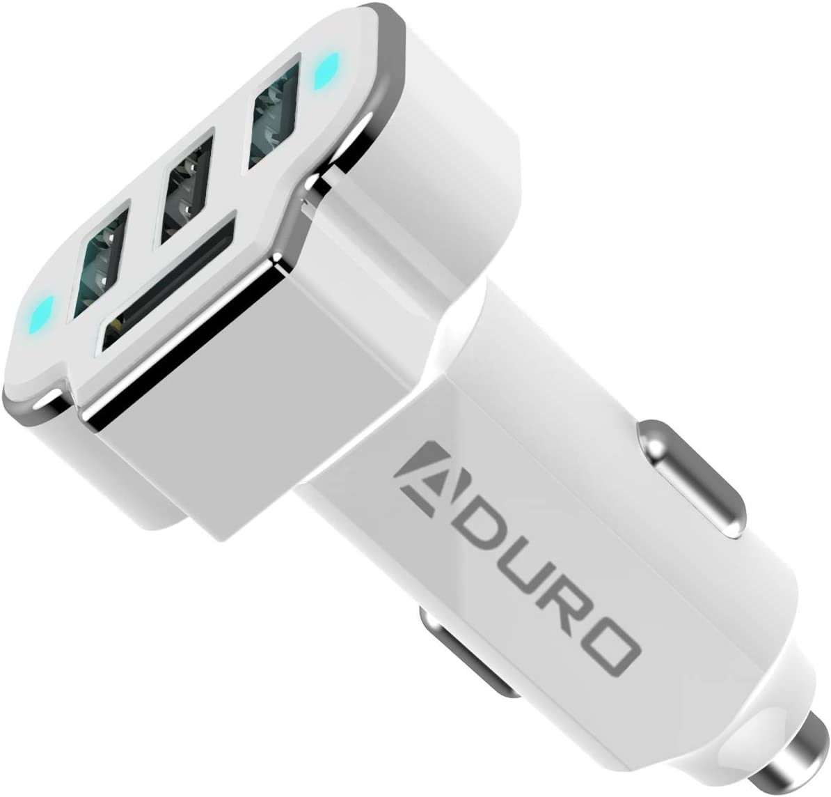 Aduro 4 Port Car Charger Adapter
