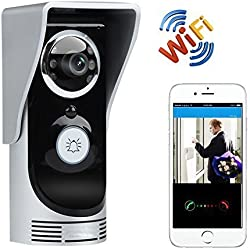 PowerLead Pdor D015 Doorbell Wifi Video Doorbell APP Support Motion Detection Night Vision Weatherproof Door Phone Doorbell