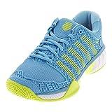 K-Swiss Hypercourt Express Womens Tennis Shoe (Neon Pink/Deep Orchid) (7.5)