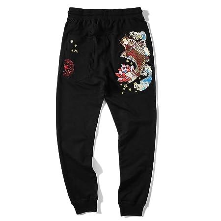 Para hombre del basculador Pantalones Verano Otoño Estilo chino ...
