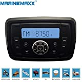 Best Utv Speakers - MarineMaxx Marine Stereo Audio MP3 Radio FM AM Review