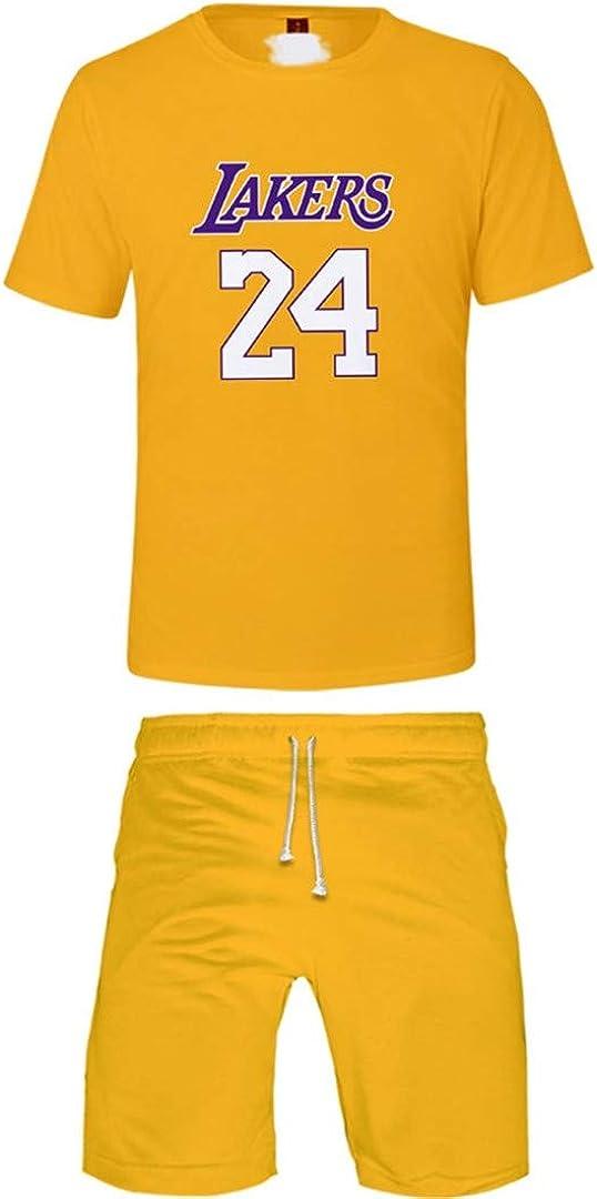 Silver Basic Basketball Completo Abbigliamento Corta Tute da Ginnastica per Bambini