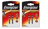 4x Energizer AAAA/E96/LR61Batteries Alkaline Battery, Long Shelf Life (Expiry Date Marked)