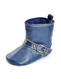 Femoie Baby Infant Toddler Soft Sole Snow Boots West Cowboy Cowgirl Crib Shoes Prewalker