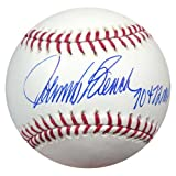 "Johnny Bench Autographed Official MLB Baseball Cincinnati Reds""70 + 72 MVP"" PSA/DNA Stock #28148"