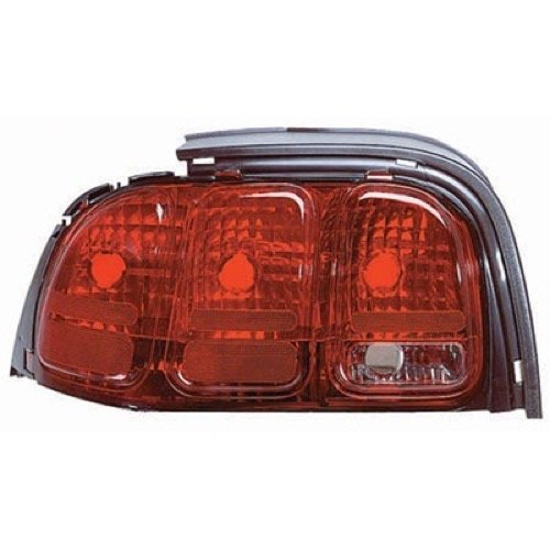 Go-Parts » OE Replacement for 1996-1998 Ford Mustang Rear Tail Light Lamp Assembly/Lens/Cover - Left (Driver) Side F7ZZ 13405 CA FO2800142 for Ford Mustang