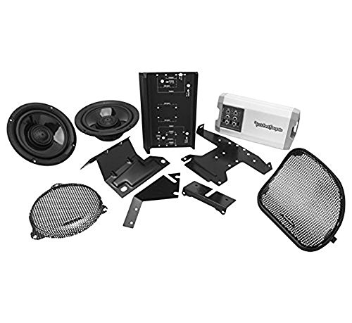 Rockford Fosgate HD14-TKIT 400 Watt T Series Front Audio Kit for Select 2014-Up Harley Davidson (Motorcycle Audio Kit)