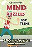 img - for Mind Puzzles for Teens: Ripple Effect Puzzles - 200 Brain Puzzles with Answers (Math Logic Puzzles) book / textbook / text book