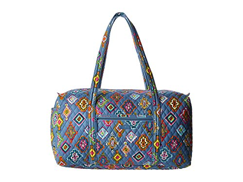 (Vera Bradley Luggage Women's Large Duffel Painted Medallions Duffel)