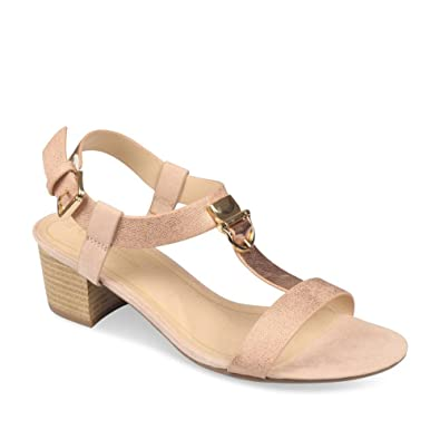 4be2e03cc84 Sandales ROSE GRANDS BOULEVARDS Femme Chaussea  Amazon.fr ...