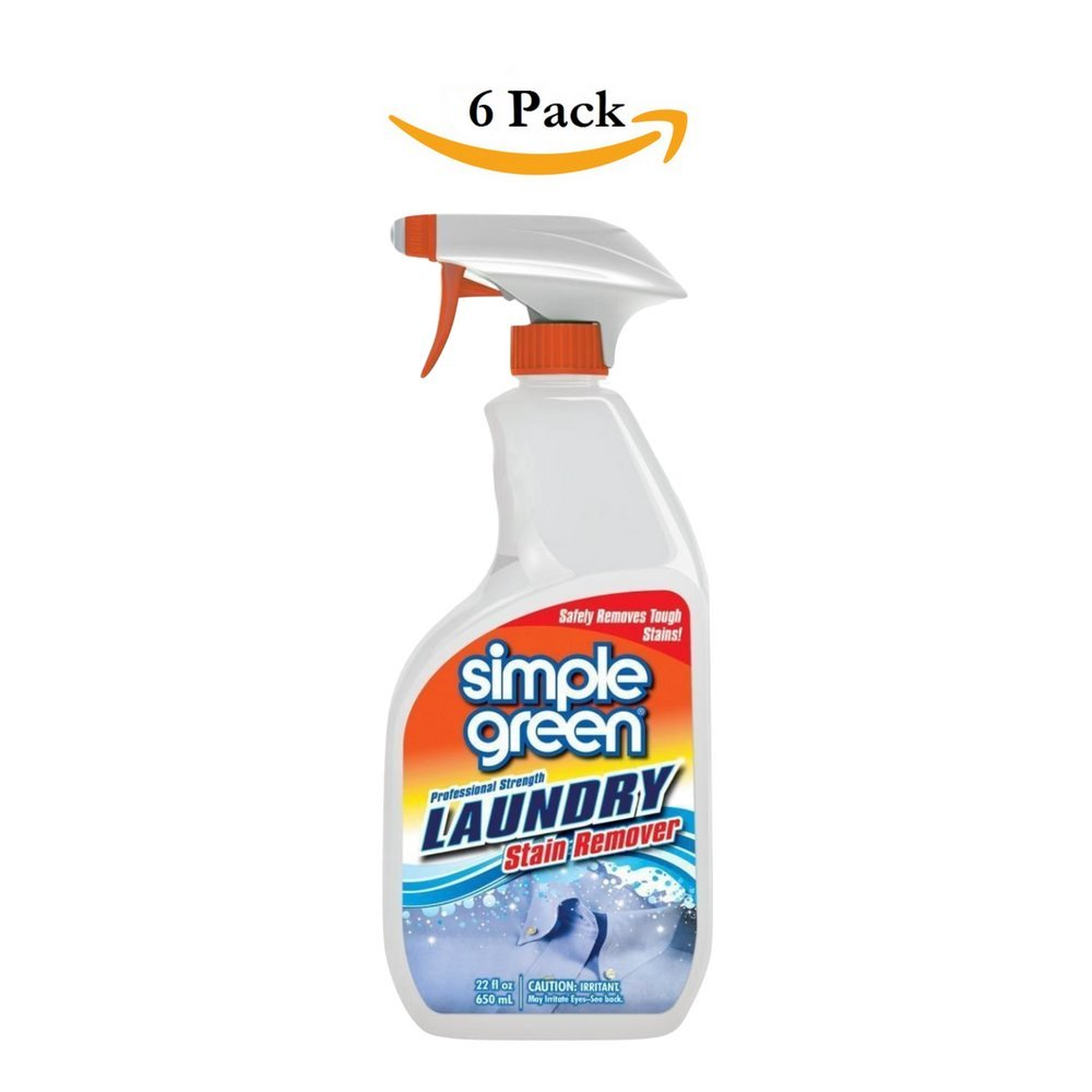 Simple Green 22 oz. Ready-To-Use Laundry Stain Remover, Pack of 6
