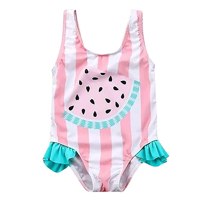 YWLINK♥Traje De BañO Lindo Verano NiñA Bikini con Estampado ...
