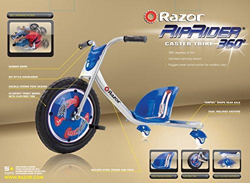 Razor RipRider 360 Caster Trike, Blue by Razor (Image #10)