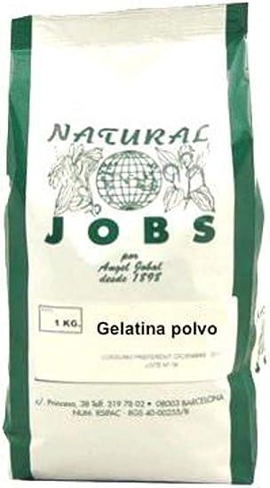 Gelatina Polvo 1 Kg de Angel Jobal: Amazon.es: Salud y ...