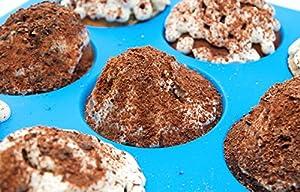 Silicone Cupcake Pan Muffin Tin – Pink Silicon Cupcake Baking Pan