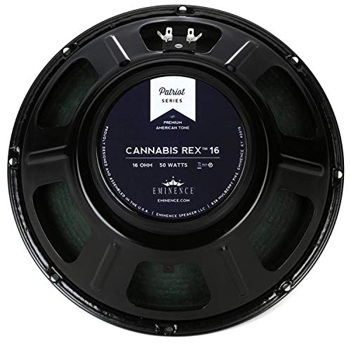 EMINENCE CANNABISREX16 12-Inch Lead/Rhythm Guitar Speakers ()