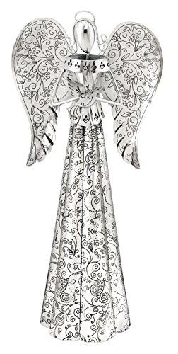 Regal Art & Gift Fluted Angel Decor, 14-Inch