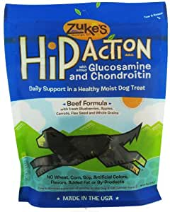 Zuke'S Hip Action Treats Beef 6oz
