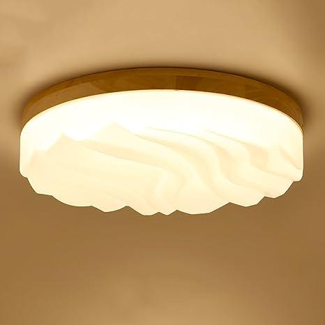 ZHQ XDD Dormitorio Nórdico Luces Circular Creativo ...