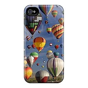 Shock-dirt Proof Balloons Case Cover For Iphone 4/4s