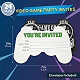 Blue Panda 24-Pack Video Game Birthday Party