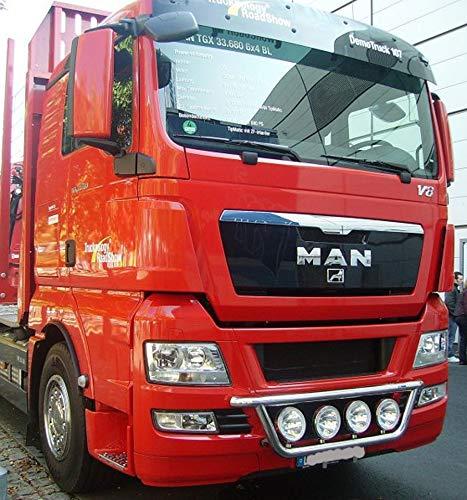Percha de l/ámpara de acero inoxidable para camiones espec/íficos del veh/ículo para abajo.