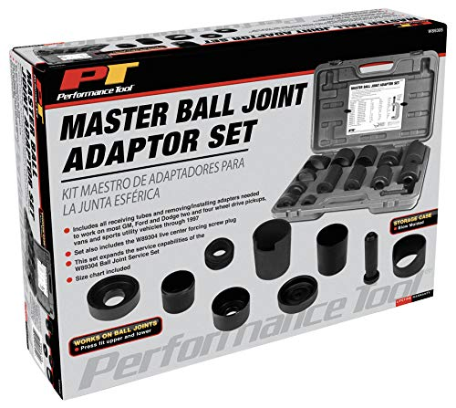 Performance Tool W89305 Master Ball Joint Adapter Set by Performance Tool (Image #3)