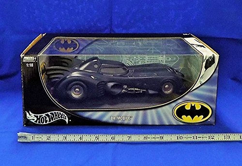 Batmobile 1989 Movie Hot Wheels Metal Collection 1:18 scale