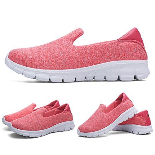 las del Zapatillas caminan Color del de el cuña para talón deporte del los mujeres de deportes respirable de D la color de deporte que recorrido ocasional tamaño Zapatillas de 39 verano puro UwxtqSYf
