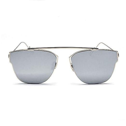 Z&YQ Sonnenbrille Metallbeschichtung Katze Auge Sonnenbrille Frauen Designer Vintage Sun Brille , d