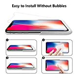 Vicious Teknology iPhone Xs Max Screen Protector, 6.5 Inches - 3 Pack, with One Anti-Spy Privacy and Two High Clarified Tempered Glass