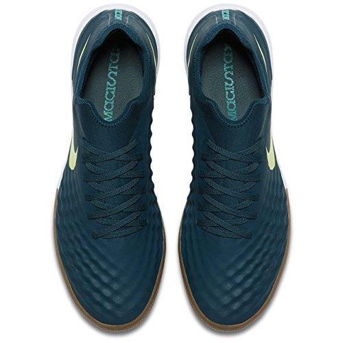 best Nike Men's MagistaX Finale II IC (Midnight Turquoise/Volt) (10)