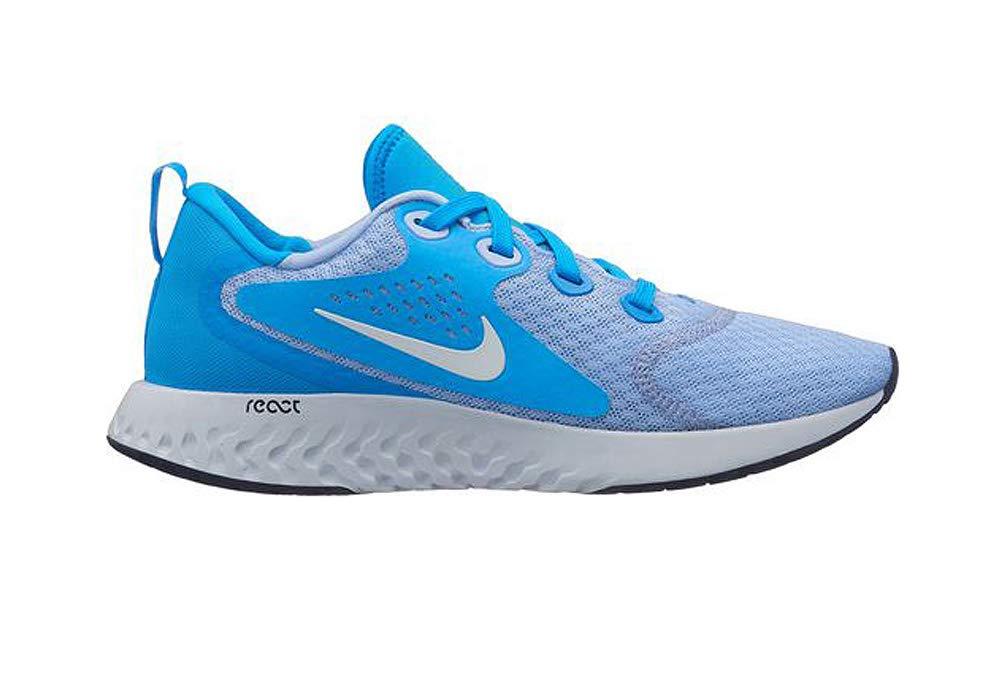 Nike Damen Wmns Legend Grau React Laufschuhe Mehrfarbig (Aluminum/Weiß/Blau Hero/Football Grau Legend 400) 98adc0