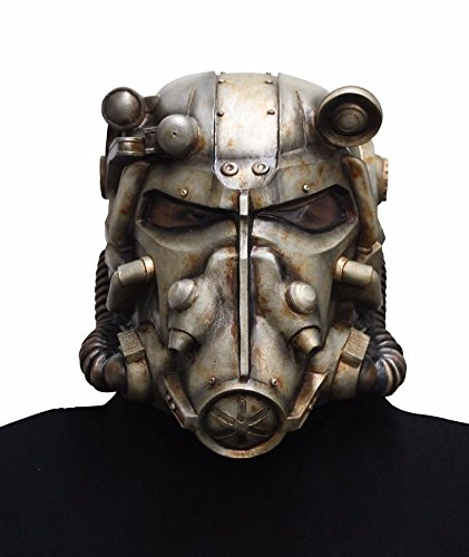 Amazoncom Fallout Adult Power Armor Helmet Clothing