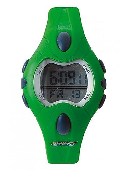 Action Man AM321 - Reloj, correa de silicona color verde: Amazon.es: Relojes