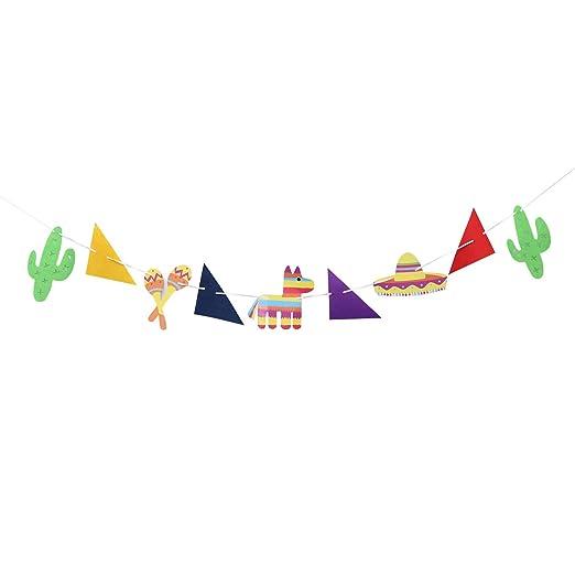 Pinata Decoración de fiesta Banner Fiesta de cumpleaños ...