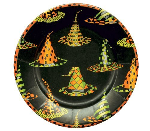 Halloween Plates Halloween Decorations Party Supplies Paper Plates Dessert Size 7.25