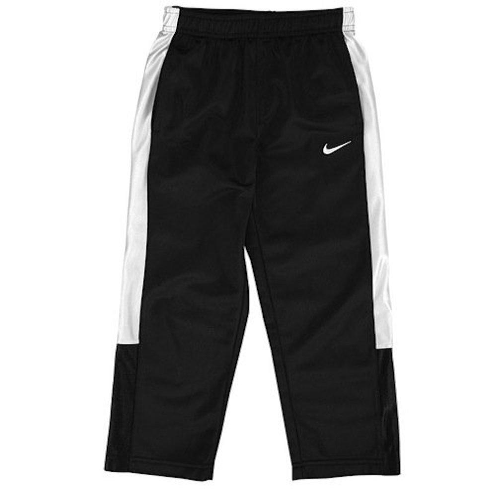 Nike niño Pantalones de chándal 4T Negro/Blanco: Amazon.es ...