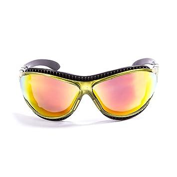 Ocean Sunglasses Tierra de Fuego - Gafas de Sol polarizadas - Montura : Verde Transparente -