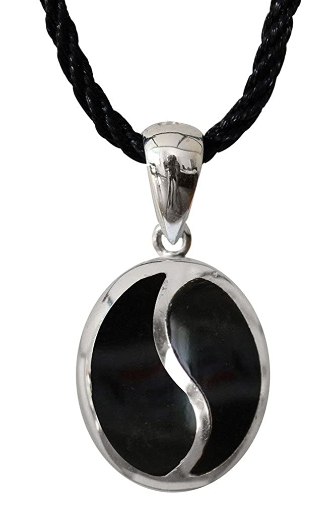 Silver Earrings Pendant available as a set with genuine onyx stones by Shalalla London