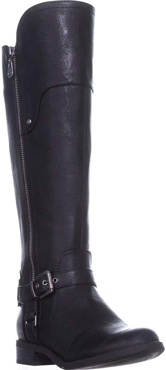 G by Guess Womens Harson Closed Toe Knee High Fashion Boots