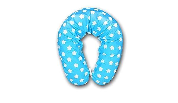 Cojín para embarazo y lactancia cojín para dormir durante el almohada para dormir de lado de tinta. Funda 170 cm XXL breit de pan de jengibre blanco sobre ...
