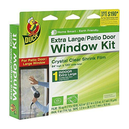 Insulator Kit (Duck Brand Indoor Window Shrink Film Insulator Kit, (2 Pack Extra Large Window))